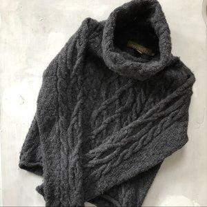 Inis Crafts Irish 100% merino wool sweater